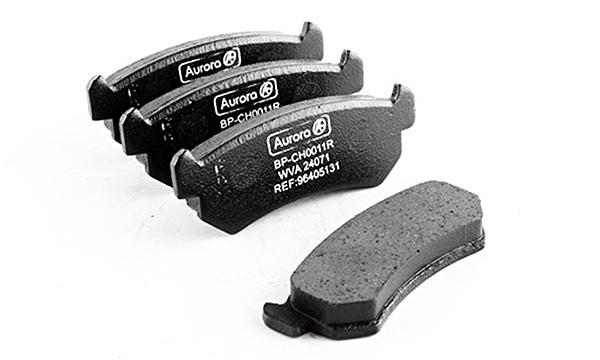 Колодка дискового тормоза передняя Chevrolet Lacetti 1,6-1,8 16V, Daewoo Nubira 1,6 AURORA