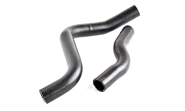 """Патрубок радиатора охлаждения Chevrolet Aveo 1.2, 1.4, 1.5 - 8v  """"Авео"""" (к-т 2 шт.) AURORA"""