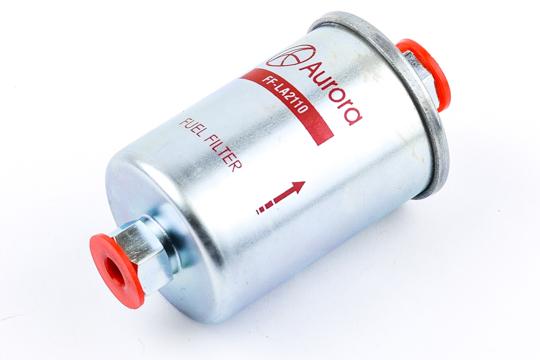"""Фильтр топливный ВАЗ 2107, 2108, 2109, 21099, 2110 , 2111, 2112, 2113, 2114, 2115, 21213, 21214, 2131 """"Нива"""", 2170, 2171, 2172 """"Приора"""" (инжектор) (под гайку) AURORA"""