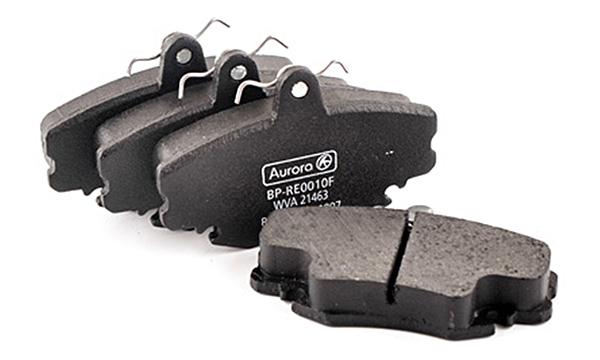 Колодка дискового тормоза передняя Dacia Logan, Renault Clio 1.1-2.0, 1.2-1.9, Megane 1.1-2.0 AURORA