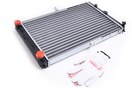 Радиатор охлаждения ВАЗ 2108, 2109, 21099, 2113, 2114, 2115 (для карбюраторных и инжекторных авто) AURORA