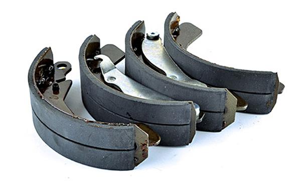 Колодка заднего тормоза Daewoo Lanos, Sens, Nexia 1.5 16v (барабанного тормоза, 4шт. комплект) AURORA