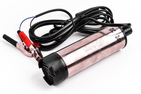 Насос топливоперекачивающий универсальный ( диаметр штуцера под шланг - 19мм, 24 В, давление 4 bar ) AURORA