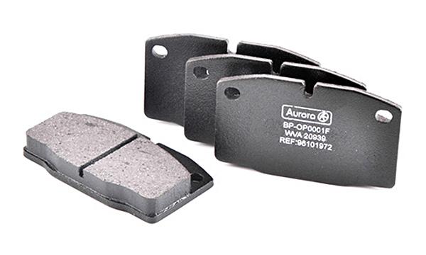 Колодка дискового тормоза передняя Daewoo Nexia 1.5 Nexia 1.5i 16V, Opel Kadet, Vectra 1.4-4.8, Omega 1.8-2.4 AURORA